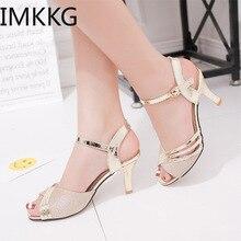 2020 Summer Shoes Woman Dress Shoes Bling Weddging Shoes gol
