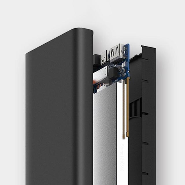 Batería externa 10000 mAh con carga inalámbrica, 18W Xiaomi 3