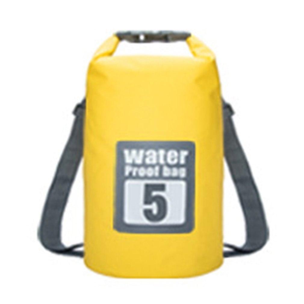 Outdoor Drifting Waterproof Bucket Bag Sport Swimming Rafting Kayaking Sailing Canoe 5L