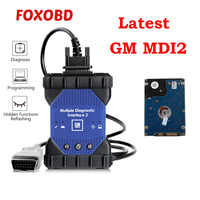 WIFI para GM MDI 2 múltiples interfaz de diagnóstico V2019.4 GDS2 Tech2Win Software Sata HDD para Opel Buick para Chevrolet