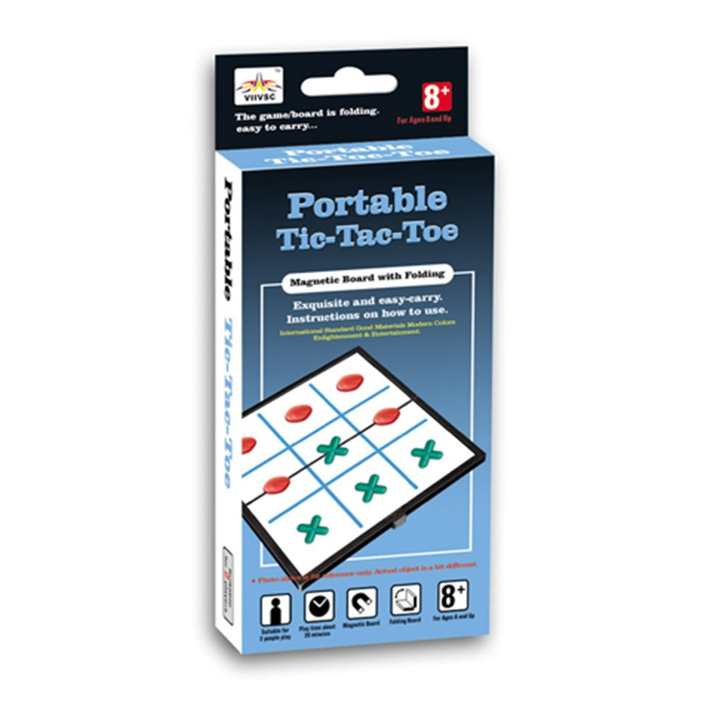 Clearance Sale Folding Magnetic Tic-tac-toe
