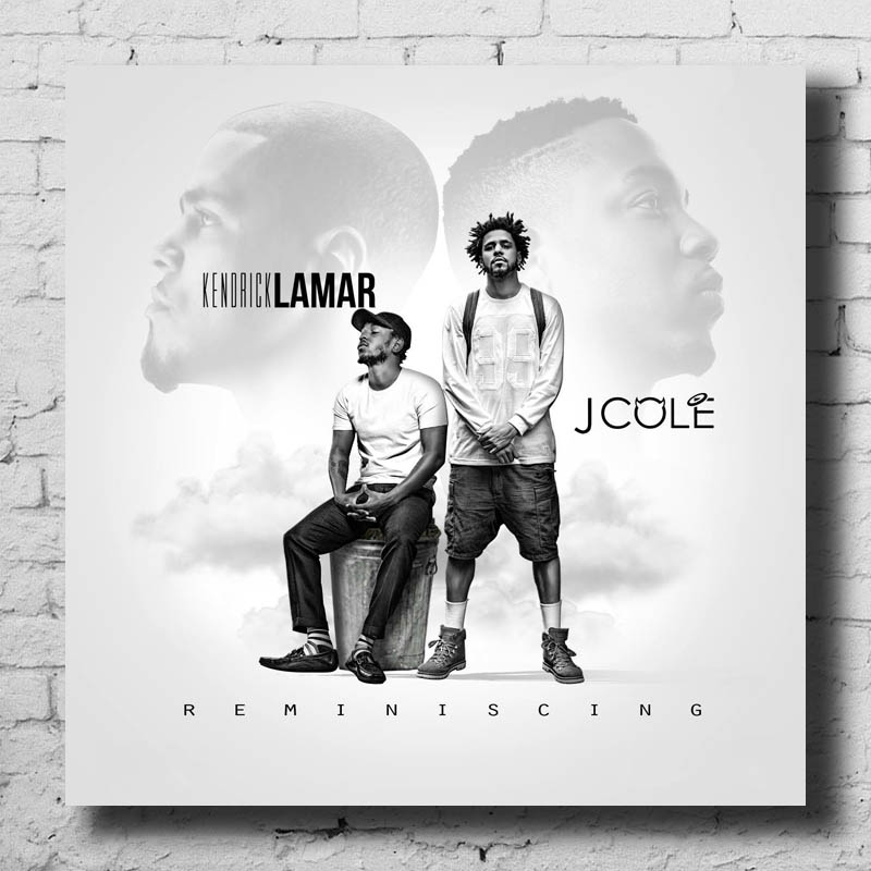 N1093 J Cole Friday Night Lights Mixtape Hip Hop Art Cover 24x24 20 Silk Poster