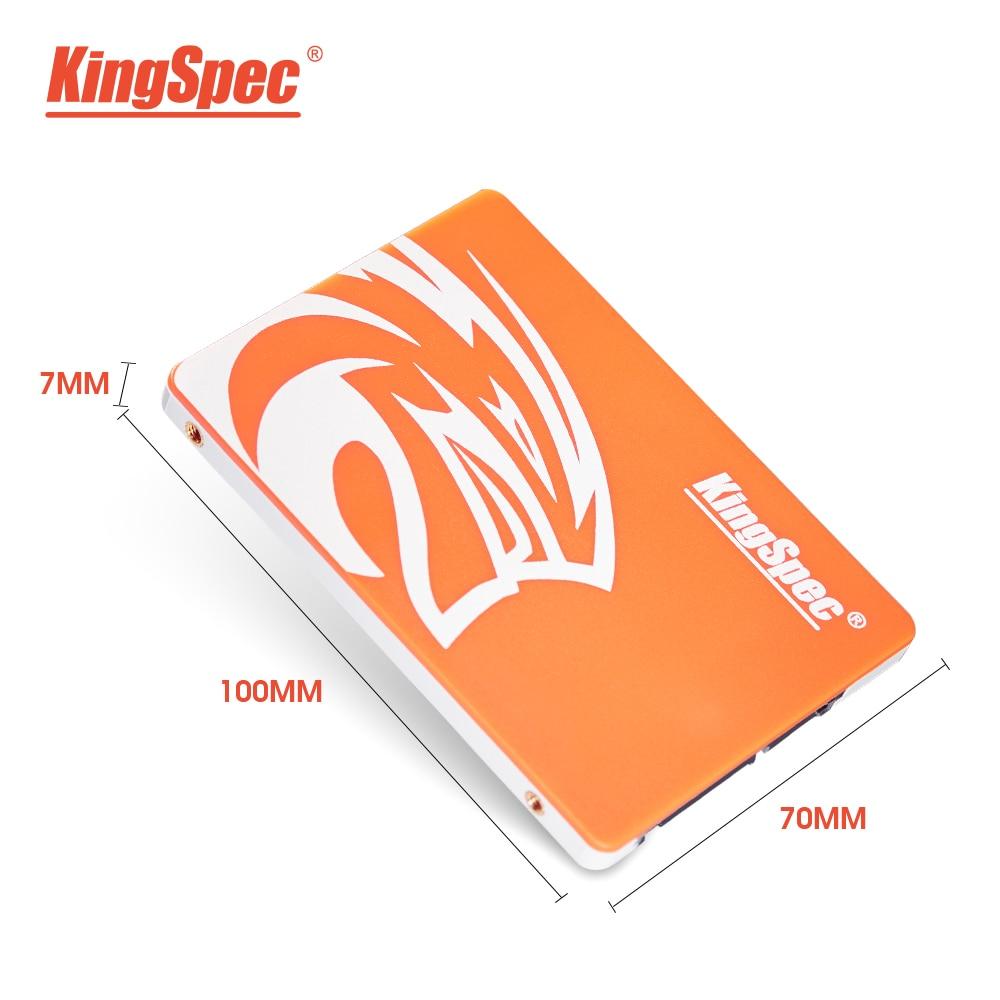KingSpec – disque dur interne SSD, SATA, 2.5 pouces, avec capacité de 120 go, 240 go, 480 go, 128 go, 256 go, 1 to, pour ordinateur portable 2