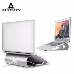 Alumínio tablet portátil suporte para macbook ar pro retina 11 12 13 15 Polegada portátil portátil de refrigeração montagem para hp dell