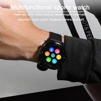 2021 LIGE IP68 Waterproof Smart Watch Men ECG Heart Rate Blood Pressure Monitor LED Flashlight Sports Fitness Tracker smartwatch 2
