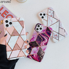 Plating Marble Silicone Soft TPU Phone Cases For Funda iphone 11 Pro Max XR X XS Max 7 8 Plus 6 6S 8Plus Case Cover Back Shell