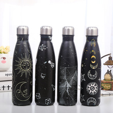500ml Double-wall Insulated Vacuum Flask Stainless Steel Space Series Coke Thermos For Sport Water Bottles Portable Thermoses cheap CN(Origin) HA174 Eco-Friendly Stocked Mini Large capacity Vacuum Flasks Thermoses Straight Cup 6-12 hours cute flask thermos cup