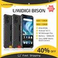 UMIDIGI BISON 6 ГБ/8 ГБ + 128 Гб NFC IP68/IP69K водонепроницаемый прочный телефон 48MP Quad Camera 6,3 дюйма FHD + Дисплей Android 10