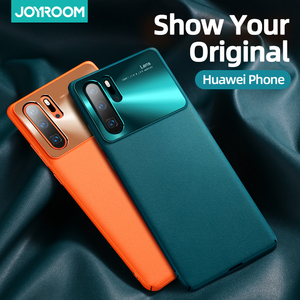 Joyroom Case For Huawei P30 Pro Case Luxury PC Imitation leather Shockproof Case For Huawei P30 P40 pro Mate 20 30 pro Official(China)