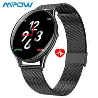 Ultra Thin Smart Watch Men Fitness Tracker HD IPS Color Screen Sport Watch Heart Rate Blood Pressure Monitor Digital Smartwatch