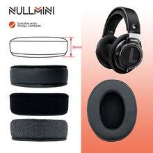 Null mini – oreillettes de remplacement pour Philips SHP9500, casque à manches en cuir
