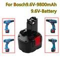 2021 последний стиль bat048 9,6 V 9800mah аккумуляторная батарея электрического инструмента перезаряжаемые никель-кадмиевая аккумуляторная Bosch PSR 960 ...