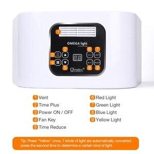 Image 3 - 7 renk LED yüz foton ışık tedavisi PDT lamba güzellik cilt makinesi arıtma rejenerasyonu yüz sıkın Anti aging akne sökücü