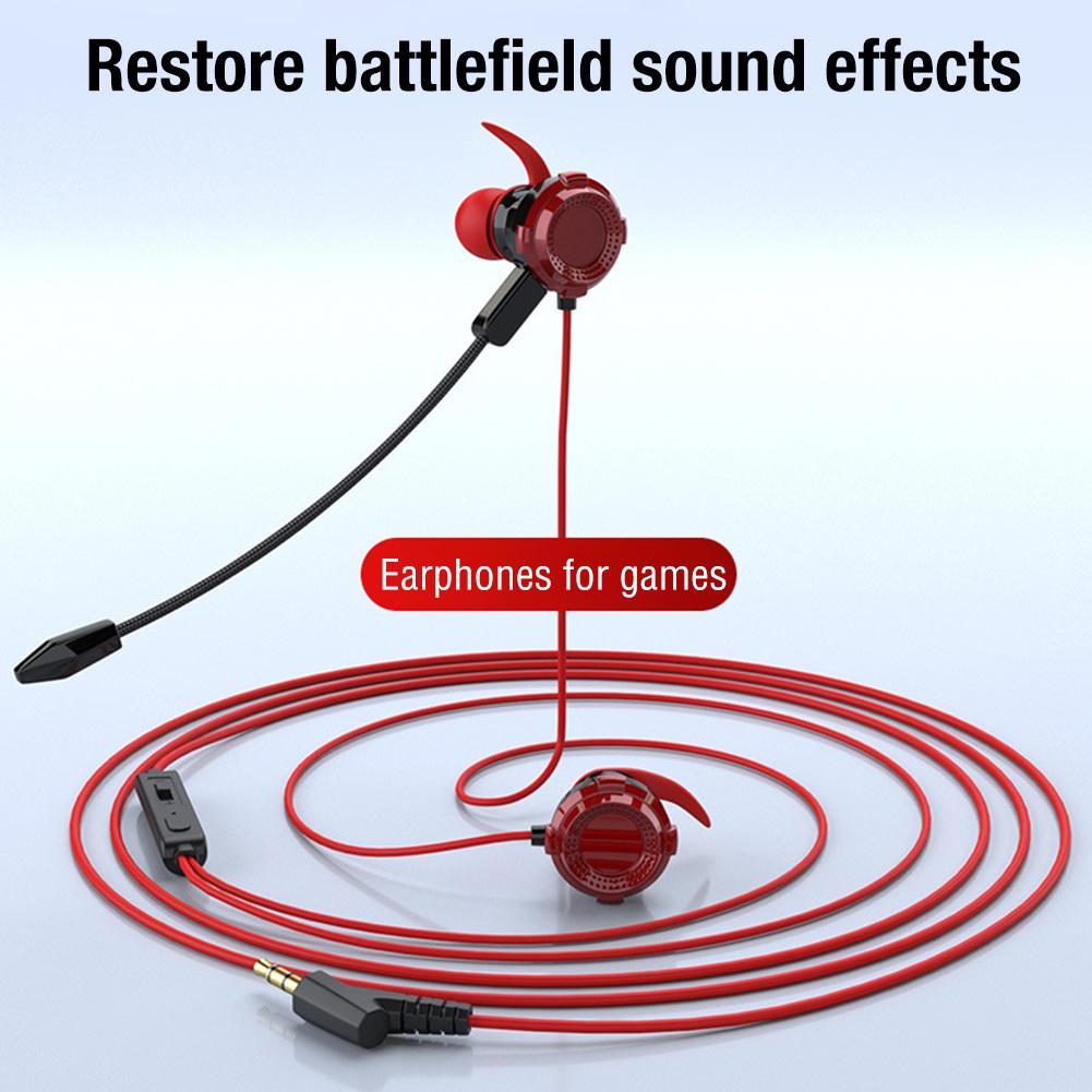 Headset Bluetooth Silicone Earphones Anti-Loss Strap Gaming Headphone Earbuds with Microphone for PC Laptops Headset Accessories