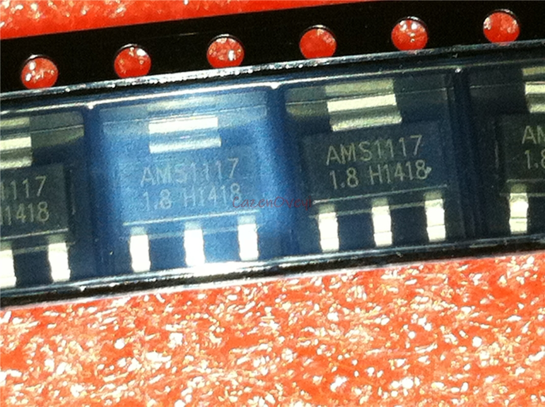 50pcs/lot AMS1117-1.8 AMS1117 1.8V 1A SOT-223 New Original In Stock