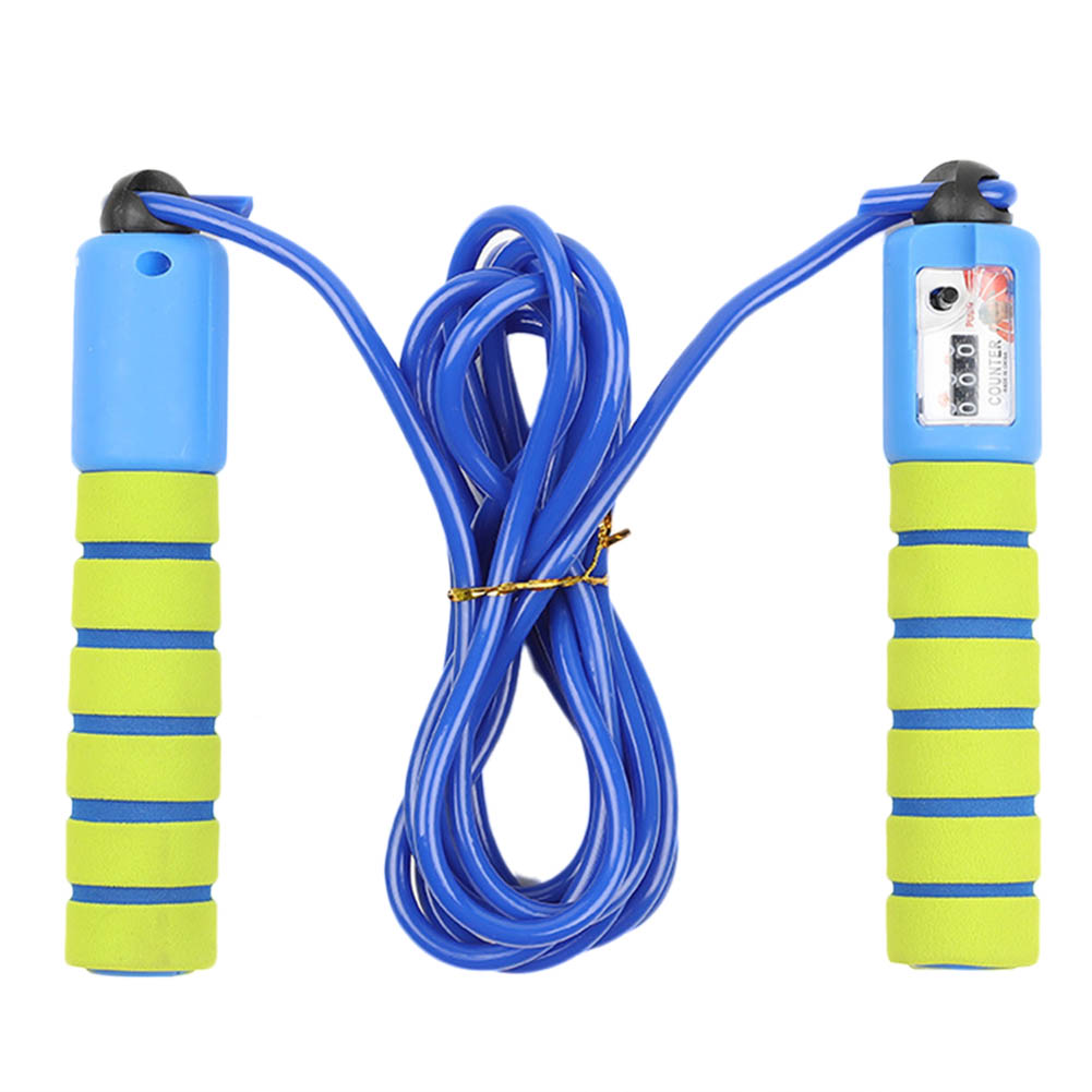Jump Ropes with Counter Sports Fitness Adjustable Fast Speed Counting Skip Rope for Effective Working-out Accessories(China)
