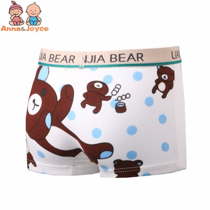 2Pc Cotton Boxer for Boys Cartoon Kids Children Underpants Panties 2