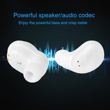 Bluetooth Earbuds True Wireless In Ear Earphones Mini Twins Handsfree Headset for iPhone Samsung LHB99
