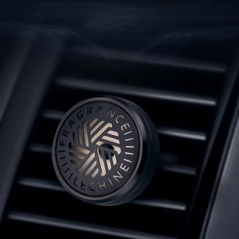 Luksusowy Metal Auto zapach powietrza zacisk wentylacyjny prosta konstrukcja odświeżacz powietrza do samochodu mały rozmiar odświeżacz do samochodu dobry zapach samochodu Difuser tanie i dobre opinie CN (pochodzenie) Stałe Top Quality Metal Black Light Mini Size