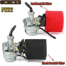 Карбюратор PZ22 22 22 мм с воздушным фильтром 38 мм для парка 125cc KAYO Apollo ESB XMoto Kandi/пыль/ATV мотоциклы обезьяны