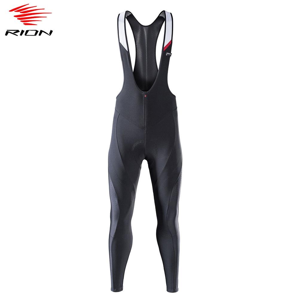 Mens Thermal Fleece Cycling Jersey Long Sleeve Bib Pants Set Cycling Pants U06
