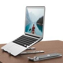 Портативный держатель для ноутбука Регулируемая Складная Алюминиевая