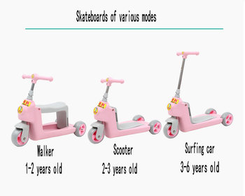 1-4 year-old child scooter baby scooter tricycle ride scooter child scooter learning scooter фото