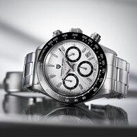PAGANI DESIGNR Top Brand Luxury Men Watches Quartz Chronograph Wristwatch Mens 30M Waterproof Business Clock Relogio Masculino