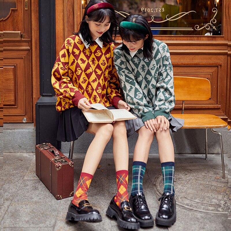 Для мальчиков и девочек; Свитера в стиле Харадзюку школьные костюмы весенняя одежда для мужчин и женщин большие подарки Водолазки      АлиЭкспресс
