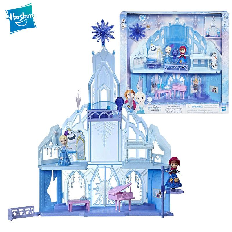 Hasbro Frozen Wonderland Elsa Anna Dream Stargazing Castle Dream House Birthday Gift Toys for Girls E1755