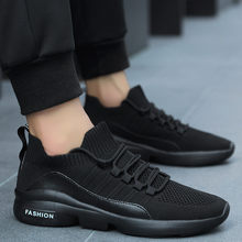 Comfortable Casual Shoes Couple Mesh Breathable sneakers men Lightweight Shock-Absorbing Running Lightweight Big Size Footwear(China)
