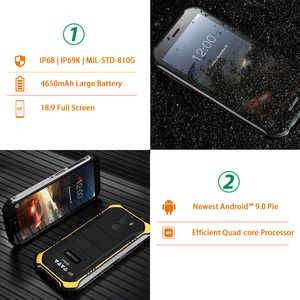 Image 3 - IP68 DOOGEE S40 Lite 5.5 Inch Display 2GB 16GB Android 9.0 Rugged Mobile Phone 4650mAh 8.0MP Camera Smartphone