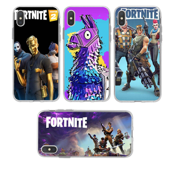 3D Cartoon Phone Cases Fortnites Game Silicone Mobile Phone Cover Printed Phone Case Accessories for Iphone 7 8 Plus XR XS11 Pro 1