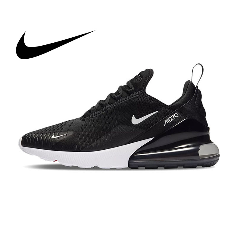Original NIKE Air Max 270 Women's Sports Running Shoes Fashion Breathable Cozy Wear Resistant Shock Absorption Sneakers AH6789