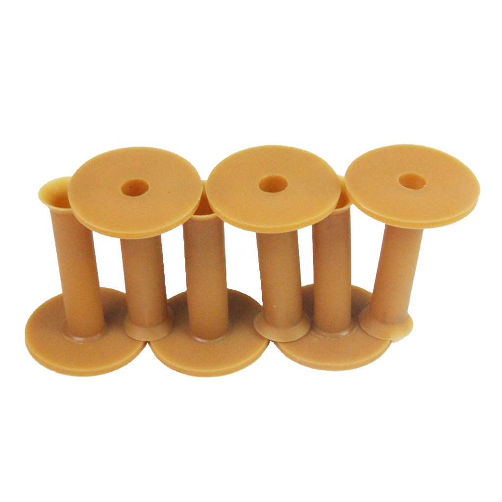 Pack Of 6 Rubber Golf Tee Holder Set For Practice & Driving Range Mats (Unbreakable) 2.95 Inch