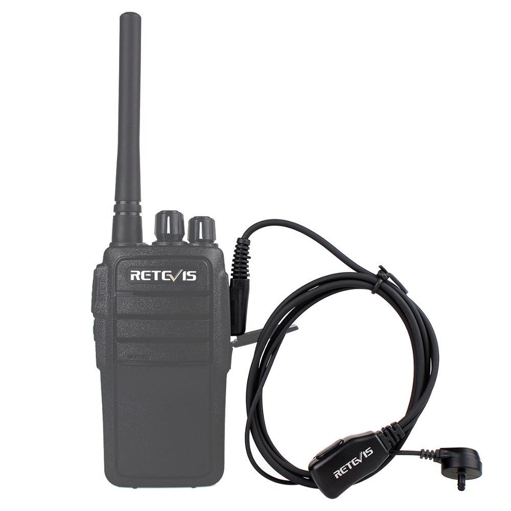 Retevis PTT MIC Earpiece Walkie Talkie Headset for BAOFENG UV-5R BF-888s Retevis H777 RT22 TYT HYT Walkie Talkie C9003A