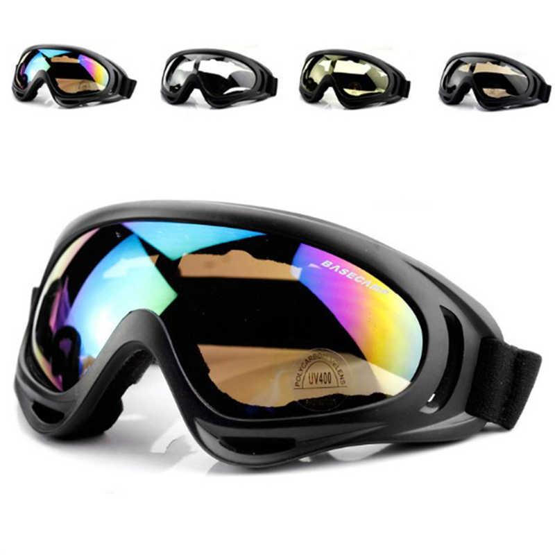 Уличные лыжные очки, маска для сноуборда, зимние солнцезащитные очки для снегохода, мотокросса, спортивные ветрозащитные пылезащитные очки для катания на коньках