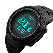 SKMEI Outdoor Multifunction Sport Watch Men Pedometer Chrono Fashion 5Bar Waterproof Digital Watches reloj hombre 1295