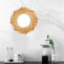10 Nordic Sun Mirror, Geometry, Phnom Penh, Wall Mirror Salon Art Toilet Bathroom