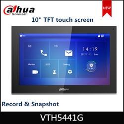 Dahua moniteur d'interphones vidéo VTH5441G numérique VTH 10 TFT écran tactile enregistrement et Snap IPC alarme de Surveillance