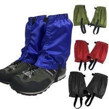 Outdoor Waterproof Legging Gaiters Hiking Camping Cover Skiing Guard  Boots Climbing Covers Leg Leg Desert M8Z6