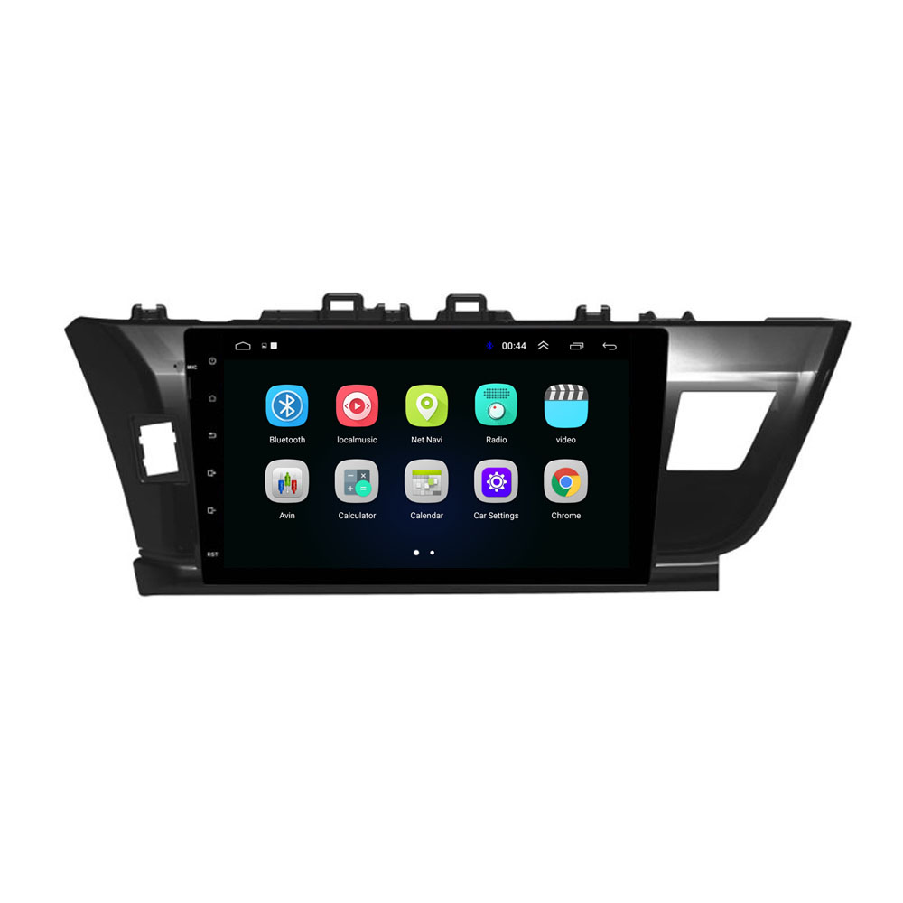 "10.1"" 4G LTE Android 8.1 Fit TOYOTA COROLLA 2014 - Multimedia Stereo Car DVD Player Navigation GPS Radio"