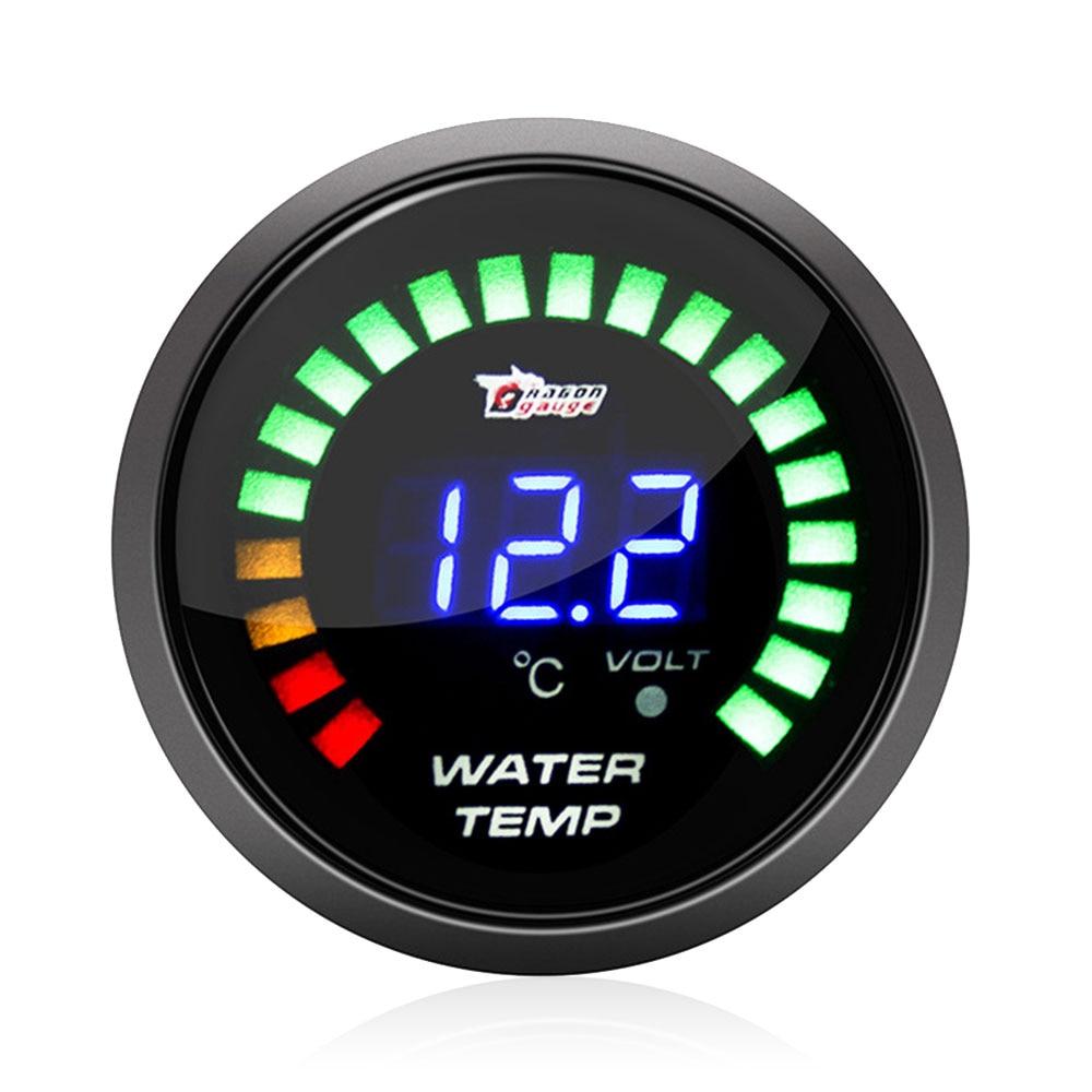 "Universal 2/"" 52mm Car Truck Auto Water Temperature Temp Gauge Meter"