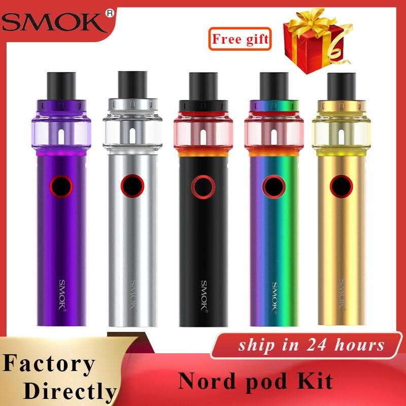 Original Smok Pen Vape 22 Luz Edição 1650mAh Bateria 4ml Atomizador Caneta Vape cigarro eletrônico vs caneta Vape 22/Stick príncipe