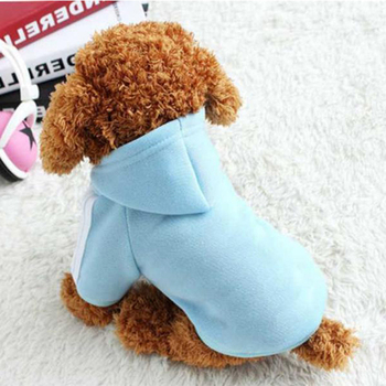Dog Hoodies Soft Fleece Winter Warm Fashion Cat Clothes Pet Dog Clothes For Small Dogs Clothing Winter Puppy Chihuahua Clothes sweet pet dog hoodie coat jumpsuit sweater fleece warm winter for cat small dogs sweatshirts pet clothes puppy chihuahua