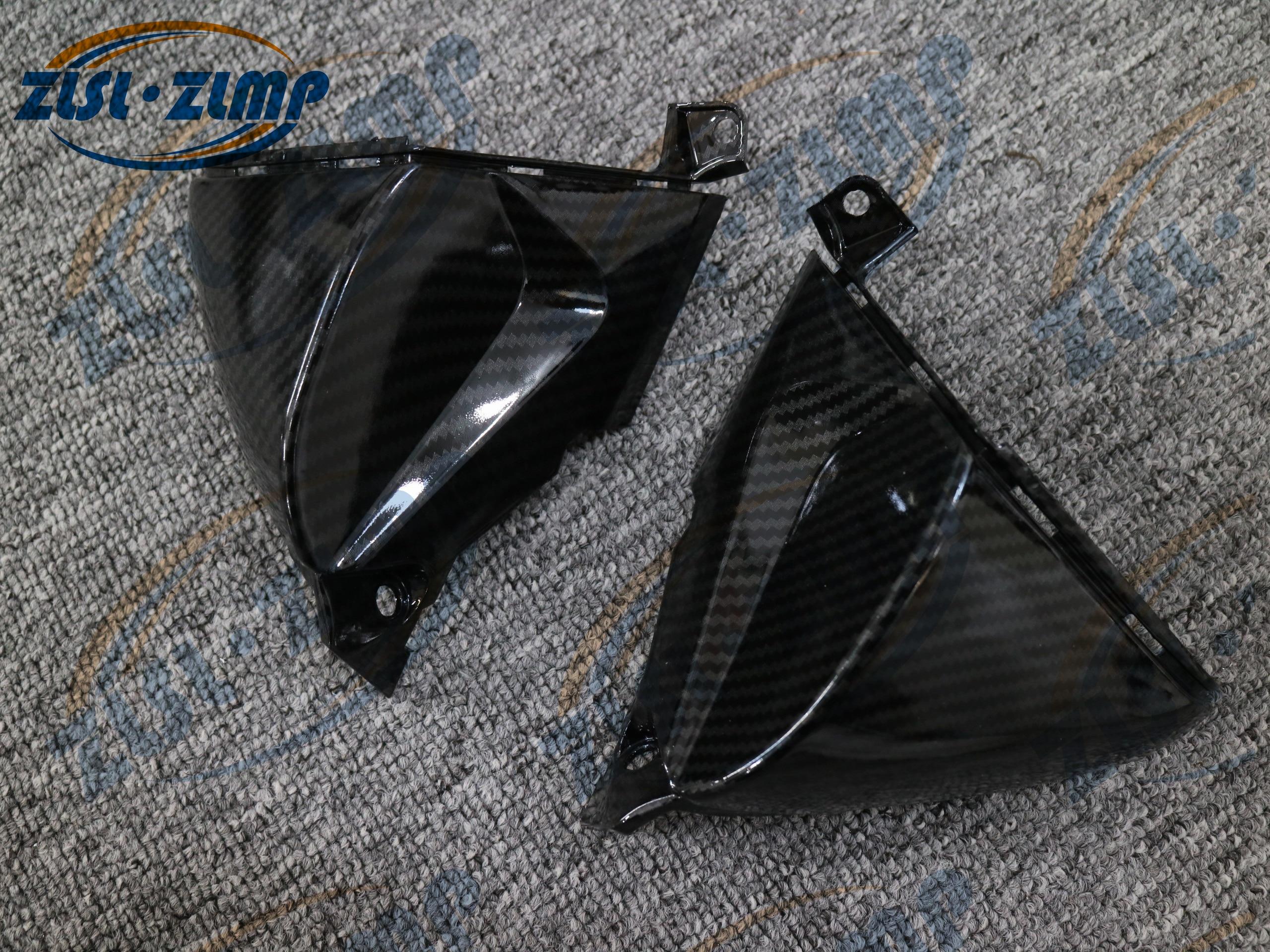For Honda CBR600RR F5 07 08 09 10 11 12 Carbon Fiber Motorcycle Headlight Side plate