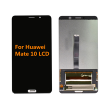 Original For Huawei Mate 10  ALP-L09 ALP-L29 LCD Display Touch Screen Digitizer Assembly For Mate 10 LCD Screen Free Replacement 10 1inch lcd display screen for irbis tz192 10 1 accessories replacement free shipping