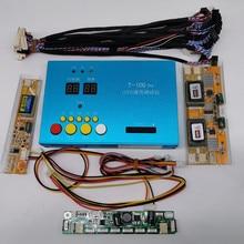 """LVDS LCD testtools Ingebouwde 100 soorten programmas om uit te kiezen Ondersteuning 7 84 """"lcd scherm programas kabels LVDS Inverter"""