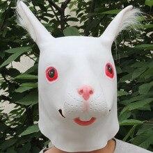 Япония маска кролика мяч Производительность украшения реквизит кролик с длинными ушами Маска кролик головная лента