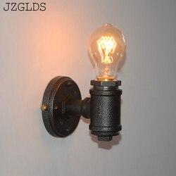 Loft oświetlenie do sypialni oświetlenie łazienkowe lina salon korytarz nocna home deco w Wewnętrzne kinkiety LED od Lampy i oświetlenie na